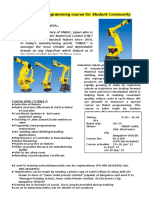 Fanuc Robot Programming Course for Students - 140926