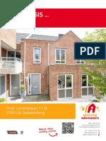 Brochure - Prof. Lorentzlaan 11B, Soesterberg
