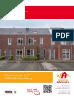 Brochure - Plesmanstraat 2-07, Soesterberg