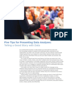 Wp Five Tips for Presenting Data Analyses