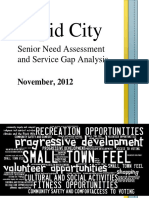 Rapid City Senior Need Assessment and Service Gap Analysis Final Report 11 2012