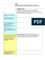 text revision template