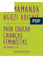 Para Educar Criancas Feministas - Chimamanda Ngozi Adichie