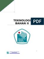 Buku Ajar Teknologi Bahan II