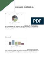 statistic evaluation