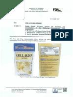 FDA Advisory No. 2017-015