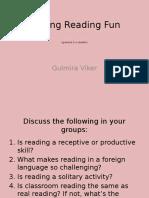 Making Reading Fun
