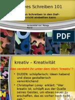 Kreatives Schreiben 101