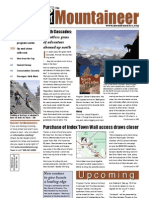 July 2010 Mountaineers Newsletter