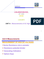 Measurement of High Voltage and High Currentunit IV Full Version