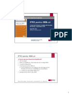 IFRS pentru IMM-uri