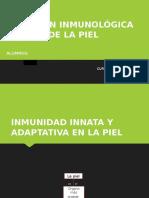 Función Inmunológica de La Piel