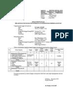 Format Surat Pernyataan Melakukan Kegiatan PKB. Peraturan Bersama Mendiknas & BKN No. 14 Tahun 2010