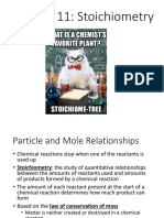 chapter 11 stoichiometry ppt pdf