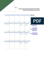 Calendario MTES 2012_2013