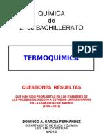 3.1 - TERMOQUÍMICA - CUESTIONES RESUELTAS DE ACCESO A LA UNIVERSIDAD