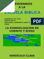 La Evangelización en Corinto y Éfeso Normal