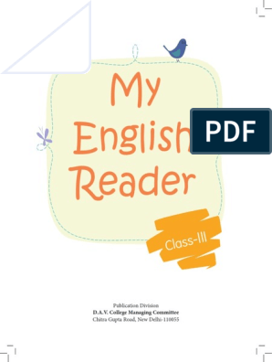 My English Reader Std-III_2015-1 | Dolphin | Zoo