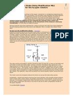 HamIV Rotor Modification