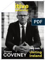 Simon Coveney  Policy Priorities