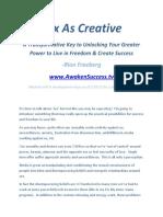 Sex as Creative