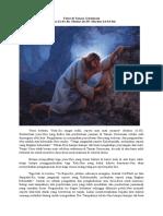 Yesus Di Taman Getsemani