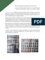 Conflicto Armado Interno de Guatemala de 1966 a 1996