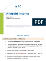 Android Chapter10 Intents