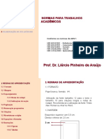 Metodologia Da Pesquisa - Liércio - Aula Da Pós - Abnt