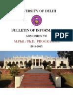 Bulletin Phd