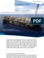 Industry Perspective Petrobras Approach to Aspects of Asset Integrity and Process Safety