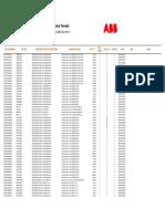 1703a Tabela de Precos Abb 2017 Produtos de Baixa Tensao