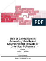 (NATO ASI Series 250) L. Ehrenberg (Auth.), Curtis C. Travis (Eds.)-Use of Biomarkers in Assessing Health and Environmental Impacts of Chemical Pollutants-Springer US (1993)
