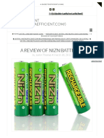 A Review of NiZn Batteries - MetaEfficient