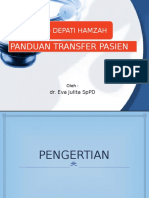 PANDUAN TRASNFER PASIEN