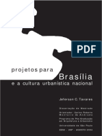 Projetos para Brasília