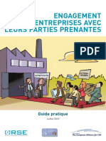 Guide ORSE Sur Lengagement Des Entreprises Avec Leurs Parties Prenantes