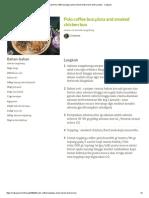 Resep Polo Coffee Bun,Pizza and Smoked Chicken Bun Oleh Livianne - Cookpad