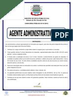Agente Administrativo i e II