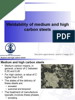 01d - Medium and High C Steels (2013) | Annealing
