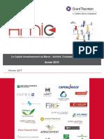 Capital Investissement Au Maroc Rapport AMIC 2016