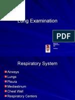 2. Resp System. Exam