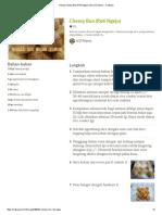 Resep Cheesy Bun (Roti Ngeju) Oleh Jo'Zi Mama - Cookpad
