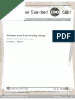ISO 5251 1981 Stainless Steel Butt Welding Fittings