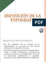 CLASE 1. Topografia 1