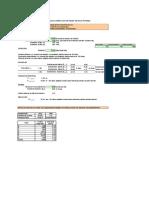 Planilla Cálculo hidráulico