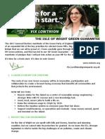 IW Green Guarantee