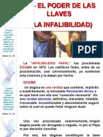 Tema 09 - El Poder de Las Llaves - La Infalibilidad