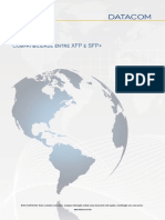 Datacom Compatibilidade XFP e SFP- Revisao 01