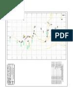 Plano Topografico de Ubicacion de Puntos de Muestro